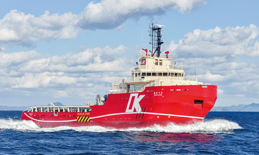 オフショア支援船